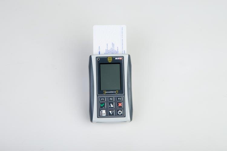 Tachograps card reader